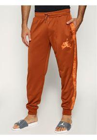 Brązowe spodnie dresowe Nike