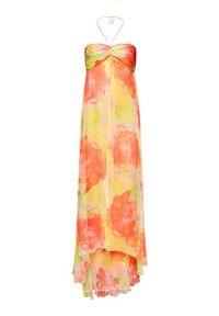 Pinko Sukienka letnia Mulan PE 20 PBK2 1B14FU 8032 Kolorowy Regular Fit. Wzór: kolorowy. Sezon: lato