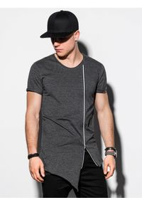 Szary t-shirt Ombre Clothing