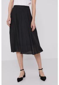 Czarna spódnica Lacoste casualowa, na co dzień, gładkie