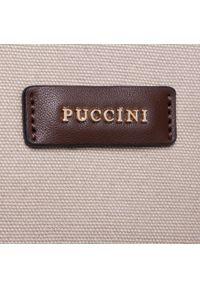 Brązowa torebka klasyczna Puccini klasyczna #5