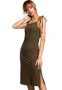 Sukienka MOE na ramiączkach, na lato