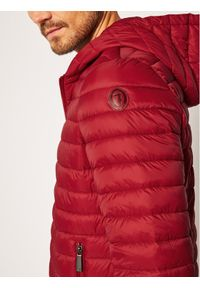 Czerwona kurtka puchowa Trussardi Jeans #6