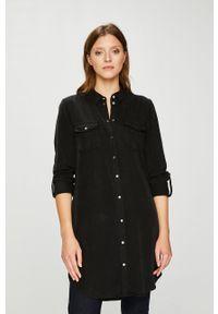 Czarna sukienka Vero Moda casualowa, prosta, na co dzień, mini