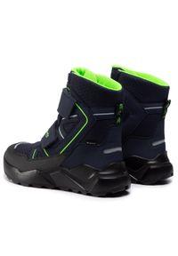 Niebieskie buty zimowe Superfit na spacer