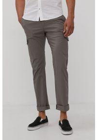 Tom Tailor - Spodnie. Okazja: na co dzień. Kolor: szary. Materiał: tkanina, bawełna. Wzór: gładki. Styl: casual
