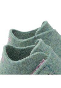 Superfit - Kapcie SUPERFIT - 1-000290-7500 Grün. Kolor: zielony. Materiał: materiał
