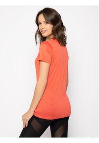 Pomarańczowa koszulka sportowa salomon