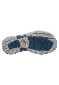 keen - Sandały damskie Keen Ravine H2 1019146. Zapięcie: pasek. Materiał: poliester, skóra, guma. Wzór: paski