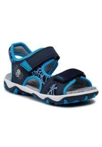 Superfit - Sandały SUPERFIT - 1-009467-8000 S Blau/Blau. Kolor: niebieski. Materiał: materiał, skóra. Sezon: lato. Styl: klasyczny