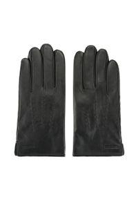 Czarne rękawiczki Wittchen klasyczne, na zimę