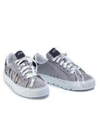 Srebrne buty sportowe Stokton