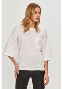 DKNY - Dkny - T-shirt. Kolor: biały