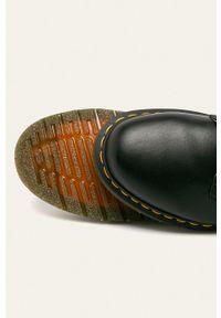 Dr. Martens - Dr Martens - Półbuty. Nosek buta: okrągły. Zapięcie: sznurówki. Kolor: czarny. Materiał: guma