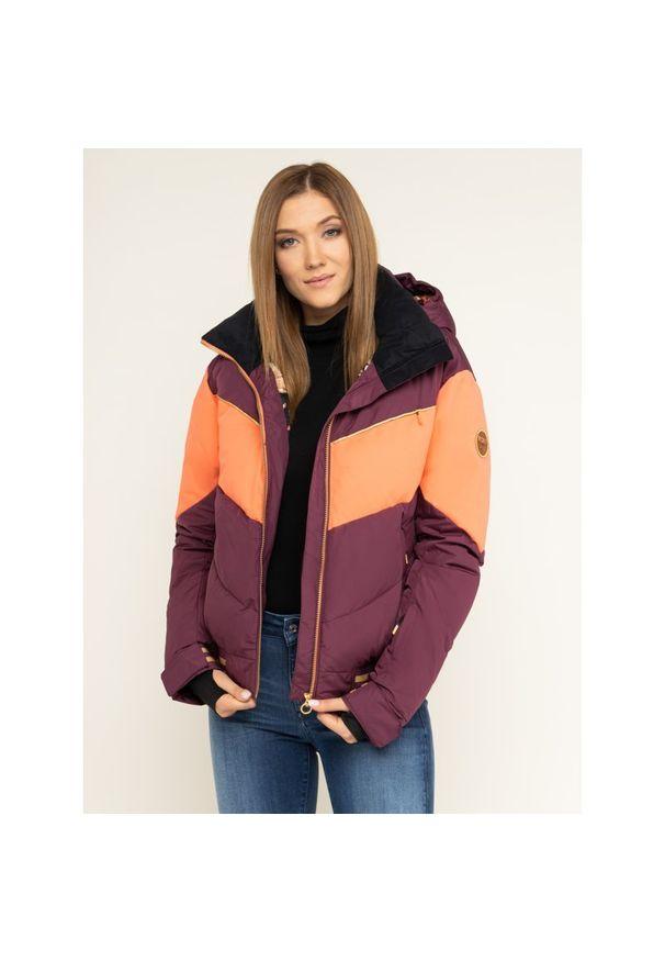 Fioletowa kurtka narciarska Roxy