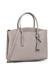 Szara torebka klasyczna Kate Spade