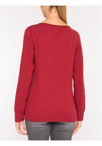 Czerwony sweter Marc O'Polo polo