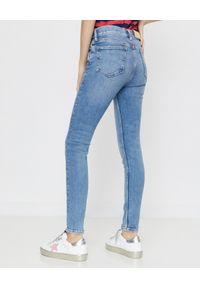 Ralph Lauren - RALPH LAUREN - Jeansy Skinny. Okazja: na co dzień. Kolor: niebieski. Wzór: aplikacja. Styl: klasyczny, casual #3