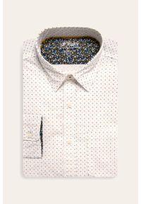 Biała koszula s.Oliver na co dzień, długa, casualowa