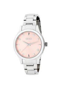 Różowy zegarek Liu Jo elegancki