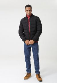 Czerwony sweter Born2be z golfem #5