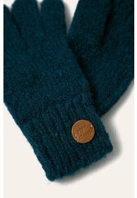 Niebieskie rękawiczki Pepe Jeans