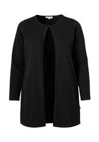 Czarny sweter Zhenzi długi, elegancki, z długim rękawem