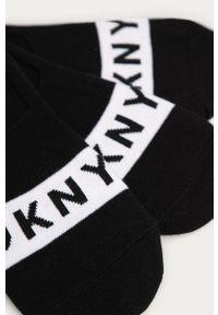 Czarne skarpetki DKNY