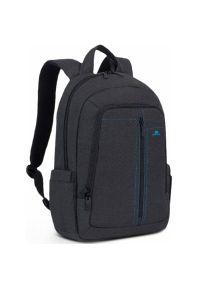 Czarny plecak na laptopa RIVACASE