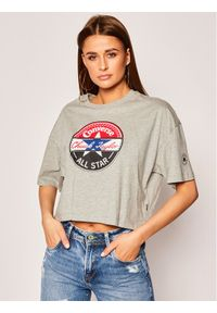 Szary t-shirt Converse