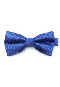 Niebieska Mucha Vernon, Męska. Kolor: niebieski. Styl: sportowy, elegancki