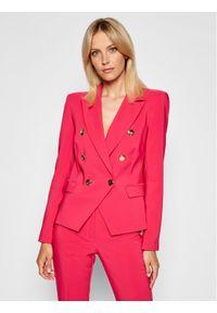 Rinascimento Żakiet CFC0103162003 Różowy Slim Fit. Kolor: różowy