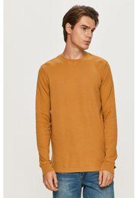Scotch & Soda - Sweter. Okazja: na co dzień. Kolor: żółty. Materiał: materiał. Styl: casual