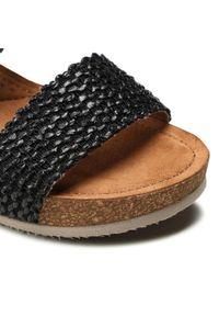 Refresh - Sandały REFRESH - 72755 Black. Okazja: na co dzień, na spacer. Kolor: czarny. Materiał: skóra ekologiczna, materiał, skóra. Sezon: lato. Styl: casual #6