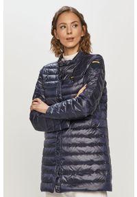 Niebieska kurtka Blauer bez kaptura, casualowa, gładkie