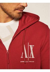 Armani Exchange Bluza 8NZMPP ZJ1ZZ 1463 Czerwony Regular Fit. Kolor: czerwony