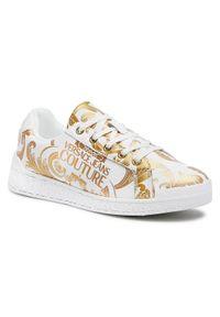Versace Jeans Couture Sneakersy E0VWASP7 Biały. Kolor: biały
