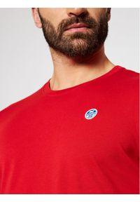 North Sails T-Shirt Logo 692530 Czerwony Regular Fit. Kolor: czerwony