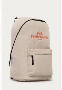 Peak Performance - Plecak. Kolor: beżowy. Wzór: aplikacja