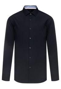 Czarna koszula biznesowa BOSS