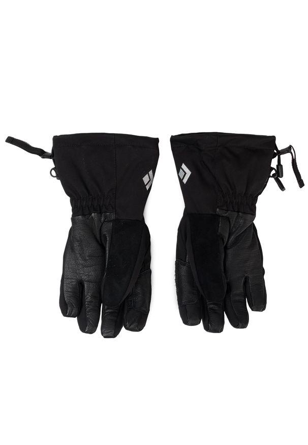 Czarne rękawiczki Black Diamond