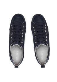 Geox Sneakersy D Myria D D0268D 022BC C4002 Granatowy. Kolor: niebieski