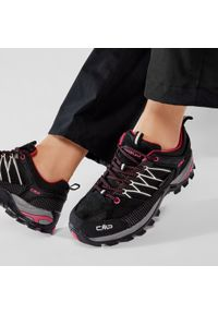Trekkingi CMP - Rigel Low Wmn Trekking Shoes Wp 3Q54456 Nero/Glacier 61UE. Okazja: na co dzień. Kolor: czarny. Materiał: zamsz, materiał, skóra. Szerokość cholewki: normalna. Sezon: lato. Styl: casual, klasyczny, elegancki