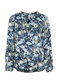 Soyaconcept Bluzka z wiskozy Oana niebieski we wzory female niebieski/ze wzorem M (40). Kolor: niebieski. Materiał: wiskoza. Długość: krótkie. Styl: elegancki
