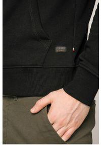 Czarna bluza rozpinana PRODUKT by Jack & Jones casualowa, na co dzień