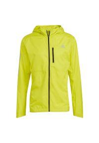Adidas - Kurtka do biegania męska adidas Own The Run GJ9950. Materiał: tkanina, poliester. Sezon: zima. Sport: bieganie