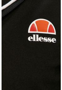 Czarna bluza rozpinana Ellesse z kapturem, na co dzień #5
