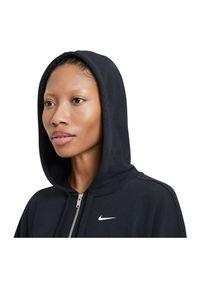 Bluza damska fitness Nike Get Fit DA0378. Typ kołnierza: kaptur. Materiał: poliester, dzianina, materiał. Technologia: Dri-Fit (Nike). Sport: fitness