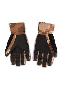 Brązowe rękawiczki sportowe Billabong snowboardowe