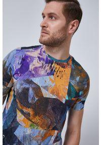medicine - Medicine - T-shirt Summer Vibes. Kolor: niebieski. Materiał: bawełna, dzianina, włókno